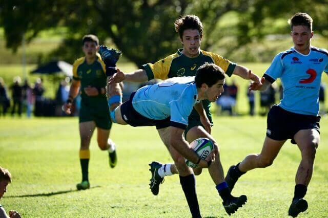 NSW I showed super skills in win over Combined States  Photo Credit: ARU Media/Karen Watson