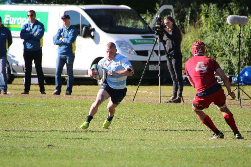 QLD I standouts, Harry Wilson, lines up NSW II tryscorer, Jayden Burgess