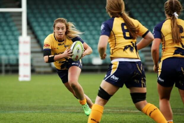Stacey Flood for Bond University Uni 7s (Photo credit ARU Media/Karen Watson)