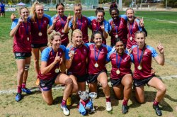 University of Queensland won their third Gold medal, and are still to lose a game