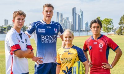 """Media opportunity for Bond University's """"Super Saturday"""" of rugby. This coming Saturday will feature the final round of the Women's AON Uni7s tournament, a NRC game between QLD Country and Melbourne Rising, plus the finals of the National U16 Championships, and National U15 Junior Gold Cup"""