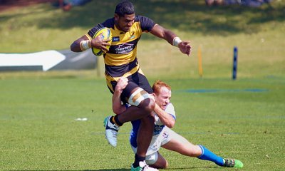 Isi Naisarani rumbles for Perth Spirit v Greater Sydney Rams (Photo Credit: Delphy)