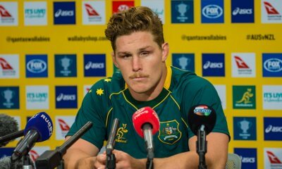 Michael Hooper press conference