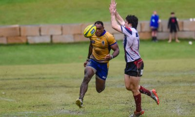 Chris Kuridrani chips ahead