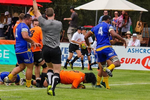 Brandon Paenga-Amosa scored a hatrick