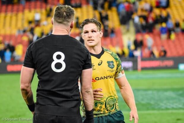Opposing captains - Kieran Read and Michael Hooper