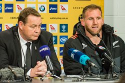 All Blacks post match press conference - Steve Hansen and Kieran Read