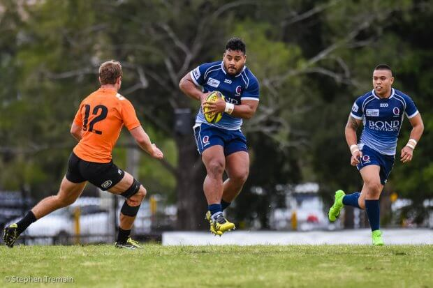 Taniela Tupou hits it up