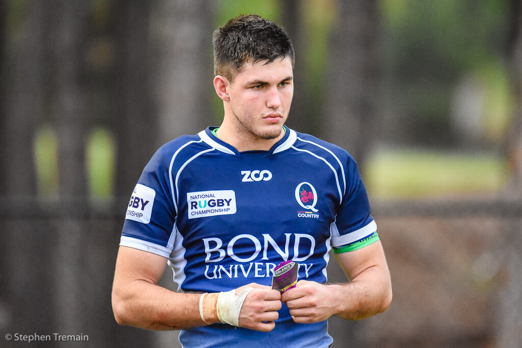 The 7 jersey is Liam Wright's for the taking