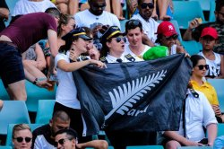 Kiwi fans Sydney 7s