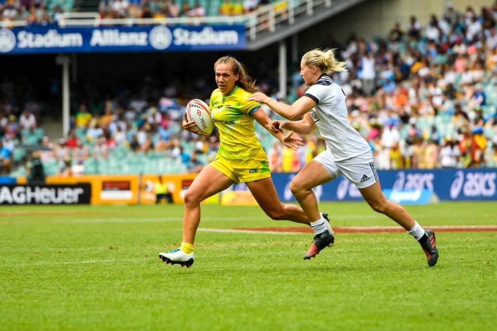 Sydney 7s Australian Women Evania Pelite