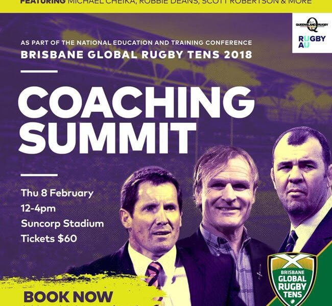 Green And Gold Rugby Gps 2018: Rugby Coaching Clinic In Brisbane