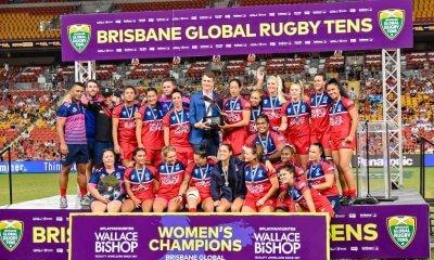 Reds Women win the Brisbane Tens Final