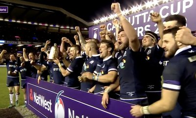 Scotland win Calcutta cup 2018