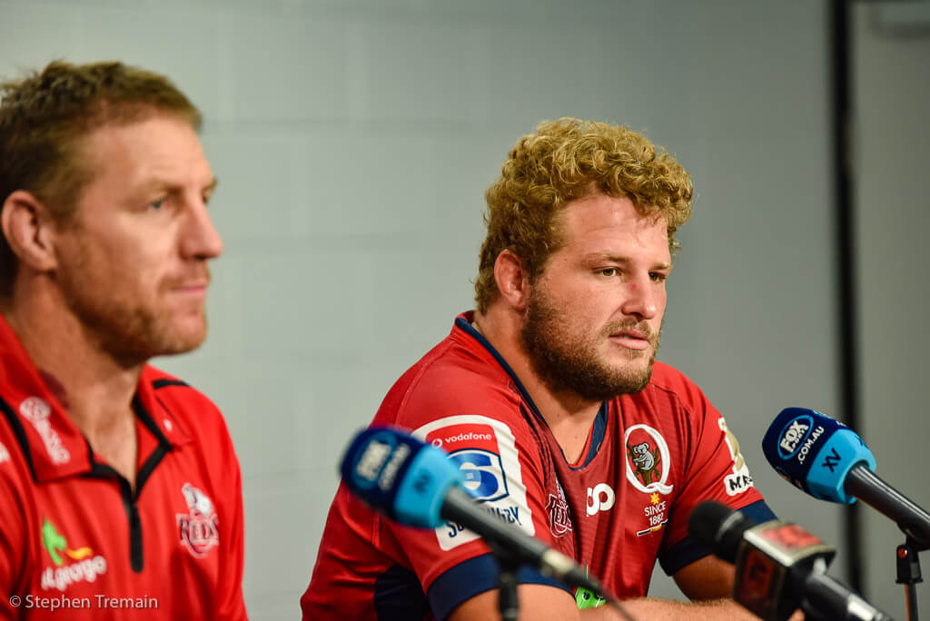 Brad Thorn and James Slipper post match press conference