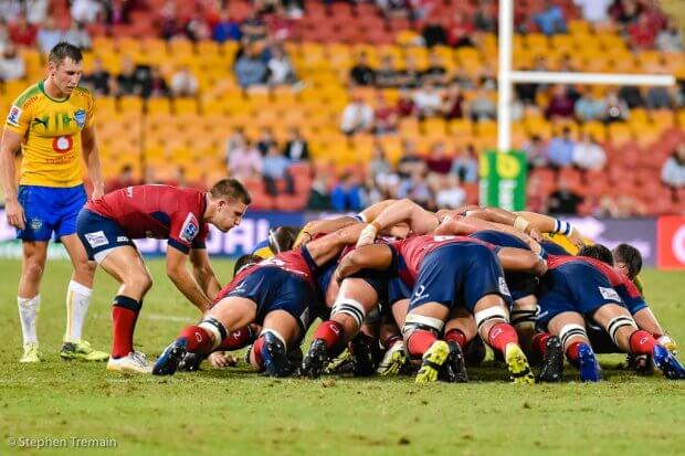 Against the Bulls in 2018 the Reds scrum was a weapon