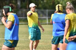 Tim Walsh during Aussie Women training session