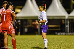 Nic Berry Red Cards the Tongan #13