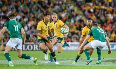 Israel Folau and Kurtley Beale