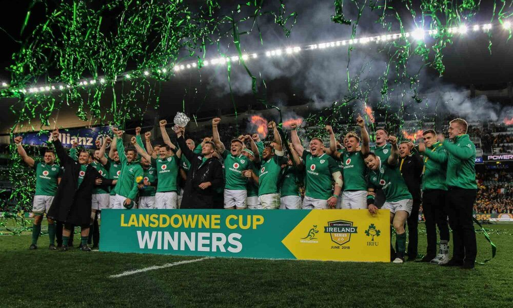 Ireland Defeat Wallabies 20-16 To Clinch Series In Nerve-Shredding Fashion