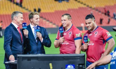 JP Smith and Taniela Tupou tell the Foxsports crew how it was done