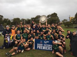Dewar Shield 2018 Melbourne Champions