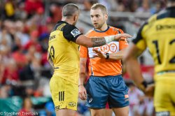 Angus Gardner edged TJ Perenara for referee of the year