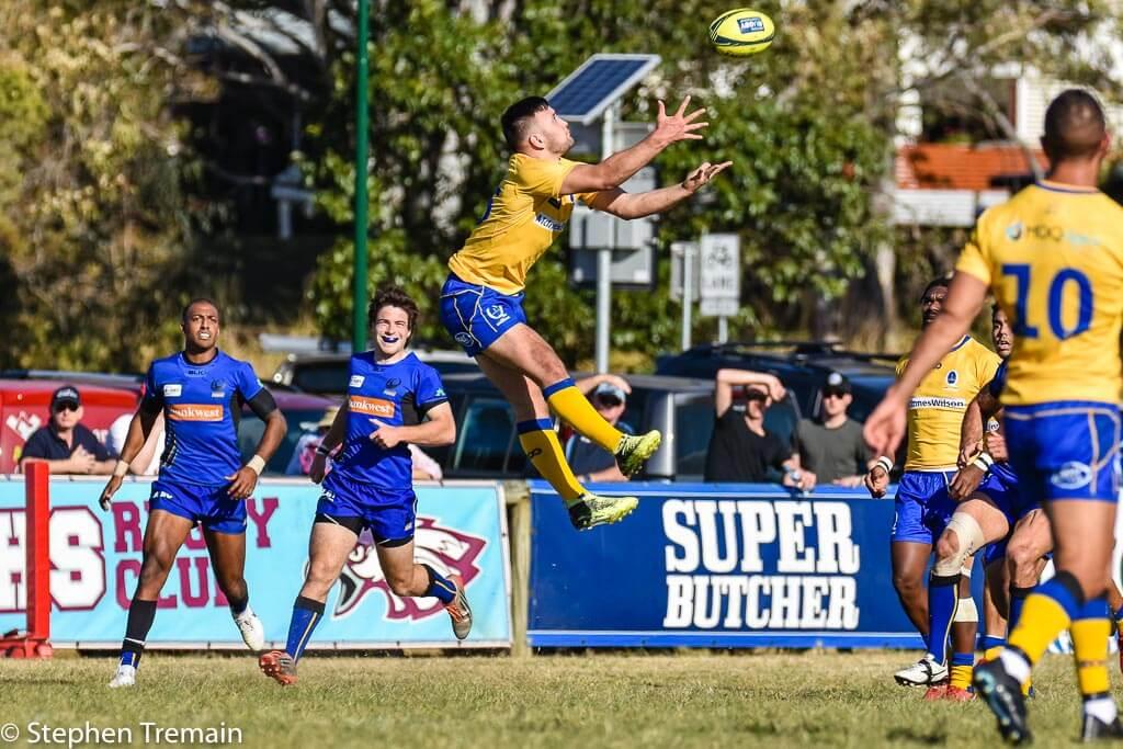 Jaye Thompson flies high