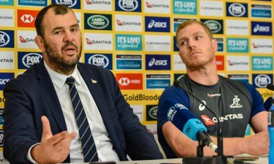 Michael Cheika and David Pocock post match press conference
