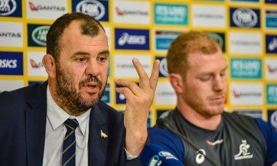 Michael Cheika and David Pocock post match press conference