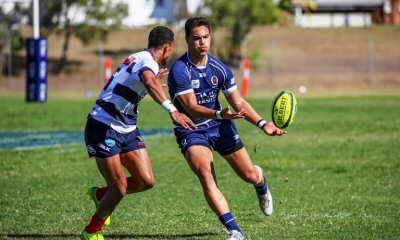 Jordan Petaia QLD Country v Melbourne Rising (Photo courtesy Rugby Australia)