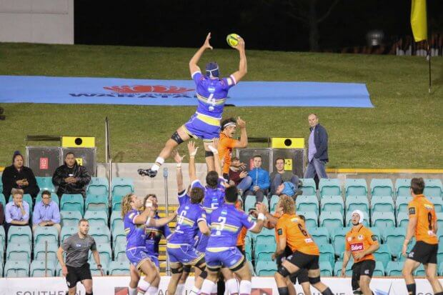 Simmons was a class above in the lineout.