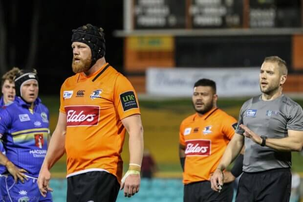 Paddy Ryan was subbed early for Sekope Kepu.