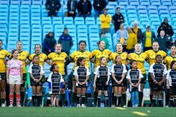 Wallaroos anthem (Credit Keith McInnes)