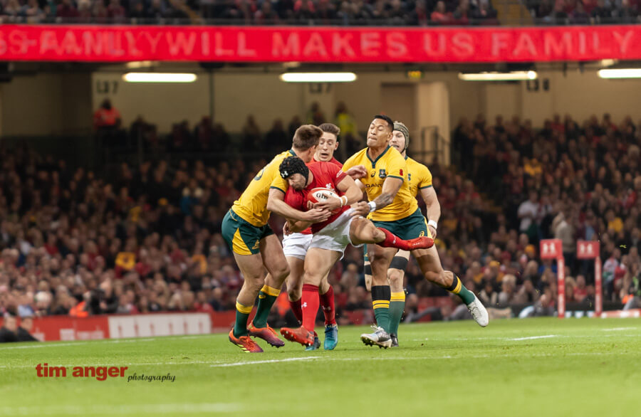Rugby: Wales vs Australia