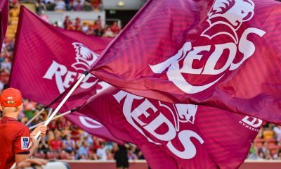 Reds Flags Stock photo