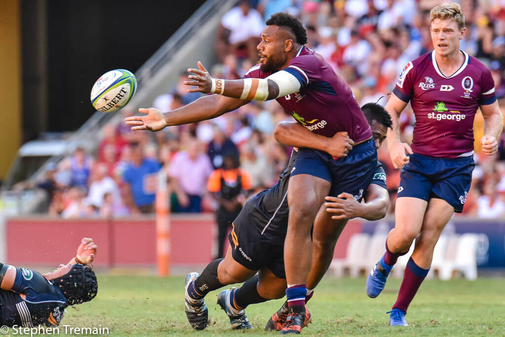 Samu Kerevi is up near the top of numerous statistical catergories