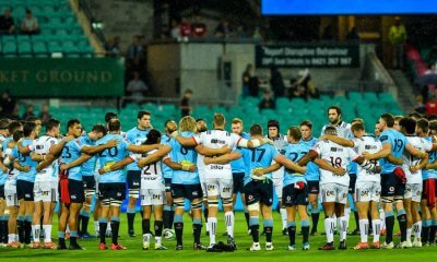 Pre Game Huddle Waratahs & Crusaders 2019 (Credit Keith McInnes)