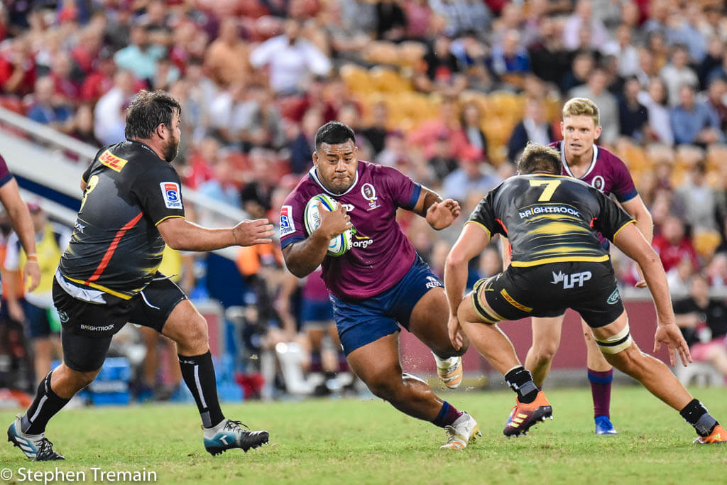 Taniela Tupou will need a big game if he wants more than a bit part at the WC
