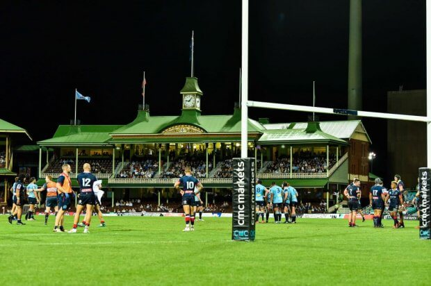 Rugby at the SCG Waratahs v Rebels 2019 (Credit Keith McInnes)