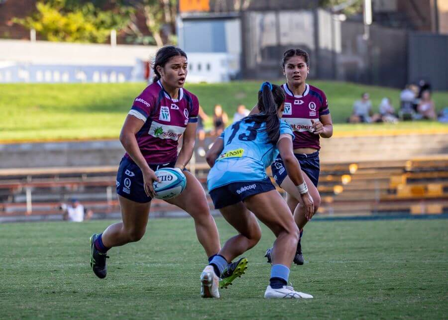 Super W 2019 QLD v NSW Alysia Lefau-Fakaosilea (photo credit QRU Media Brendan Hertel)