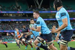 Holloway about to put Ashley-Cooper in for the tahs first try.