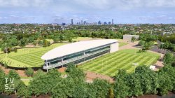Ballymore National Rugby Training Centre - NRTC perspective (credit TVS Architects