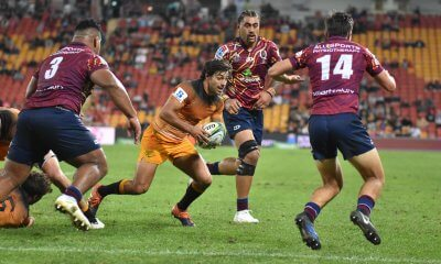 Felipe Ezcurra scores for the Jaguares
