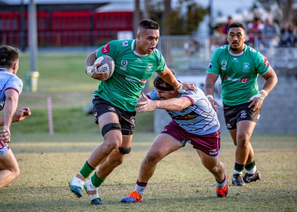 Dillon Wihongi 2 Sunnybank v Norths QLD Premier Rugby (Photo Credit: Brendan Hertel / QRU)
