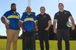 NSW NRC 2019 Coaches Pauli Taumoepeau & Chris Whitaker (Rays) Robert Taylor & Ben McCormack (Eagles)