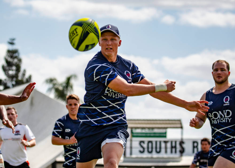 Carter Gordon  training NRC 2019 QLD Country (Photo Credit - QRU/Brendan Hertel)