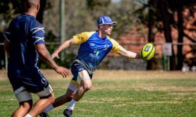 Isaac Henry  training NRC 2019 Brisbane City (Photo Credit - QRU/Brendan Hertel)