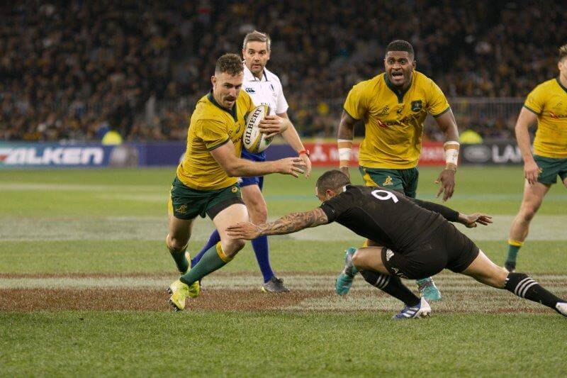 All Black Barrett banned for three weeks for red card