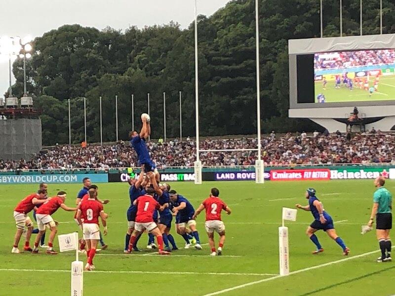 England v USA, Rugby World Cup